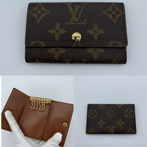 Louis Vuitton monogram 6 keys holder